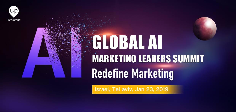 Global AI Marketing Leaders Summit TASE TLV 2019 ...