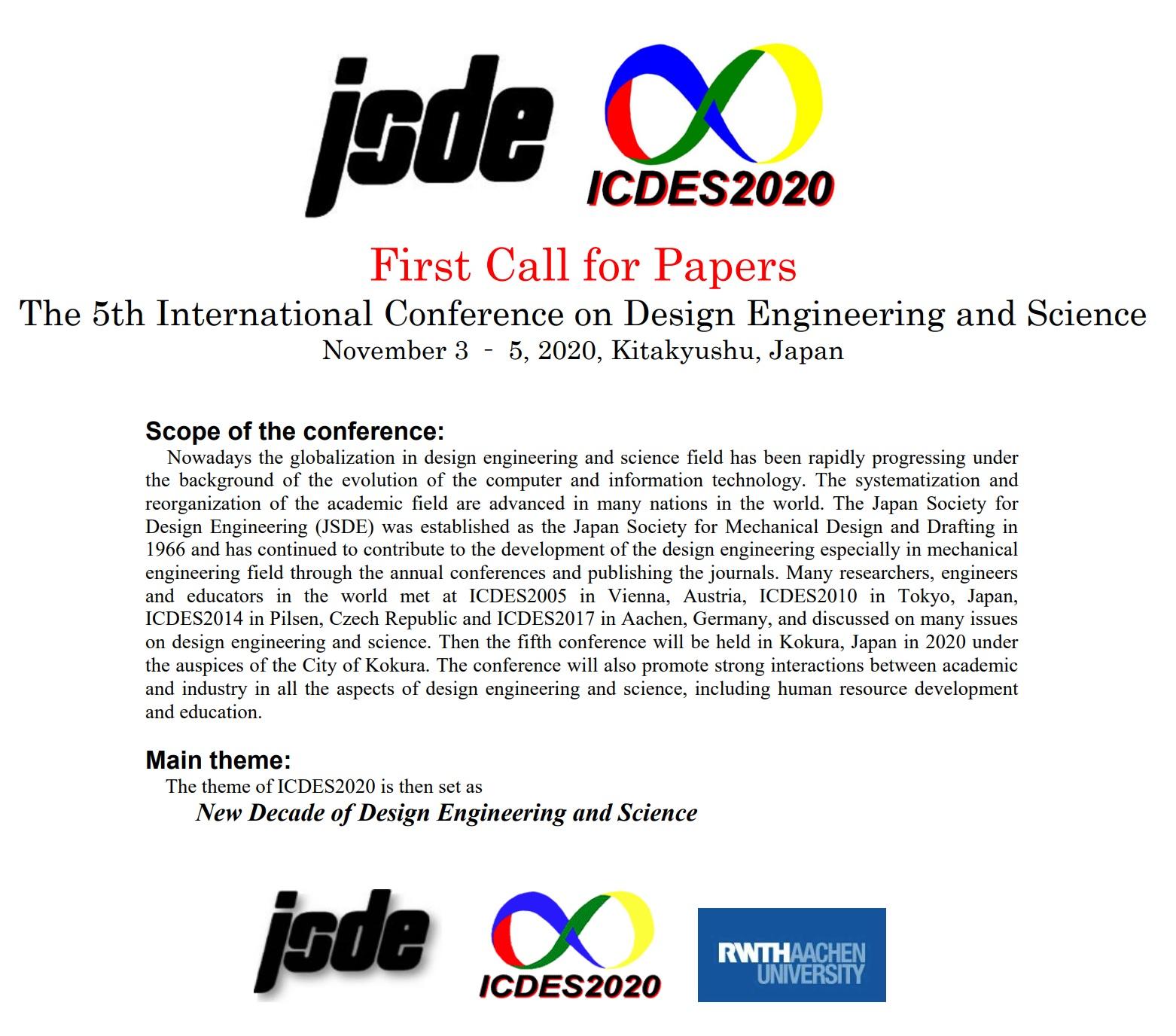 ICDES 2020