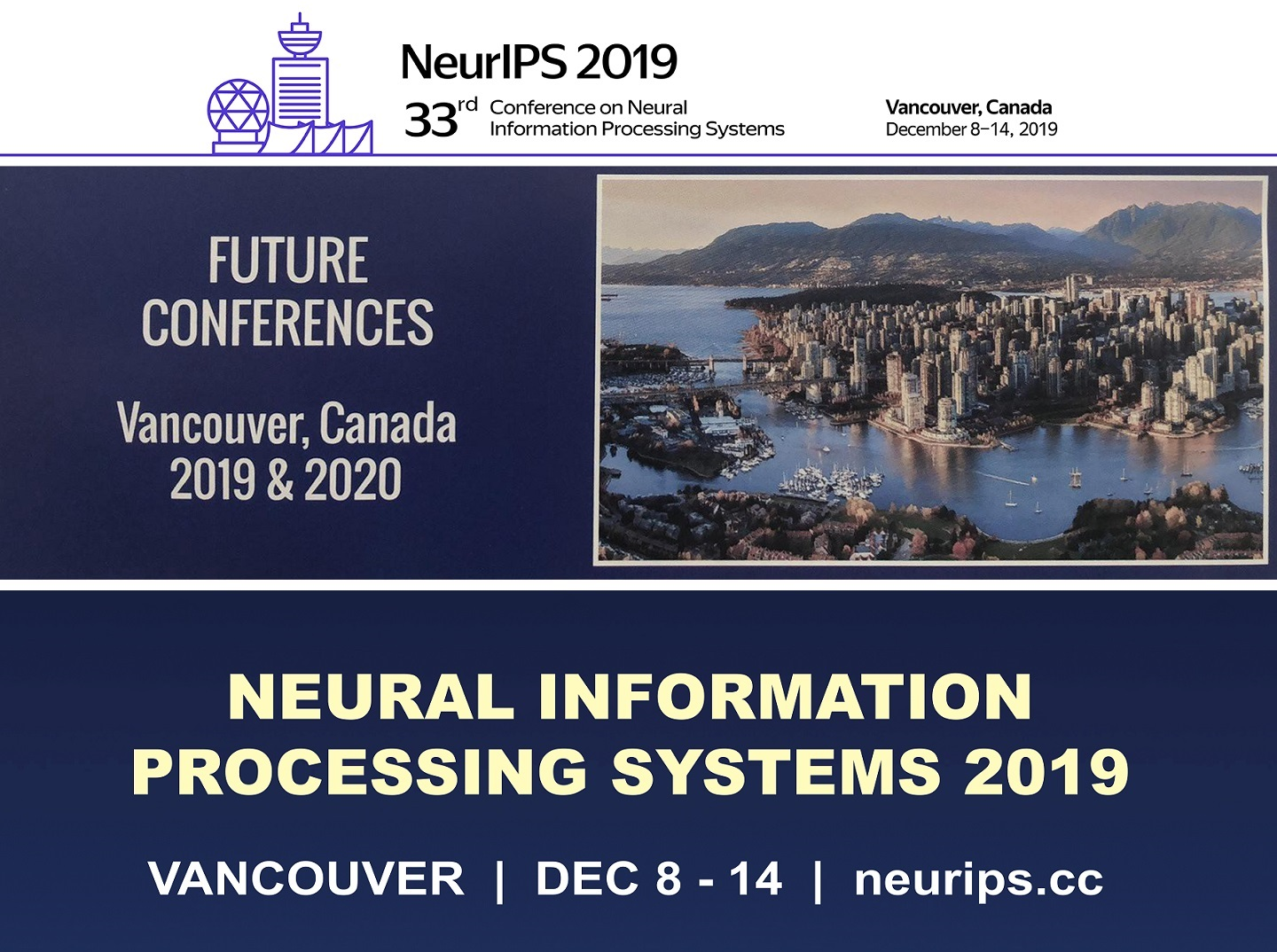 The 33rd Annual Conference of NIPS 2019