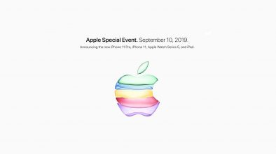 Apple Special Event September 10, 2019.