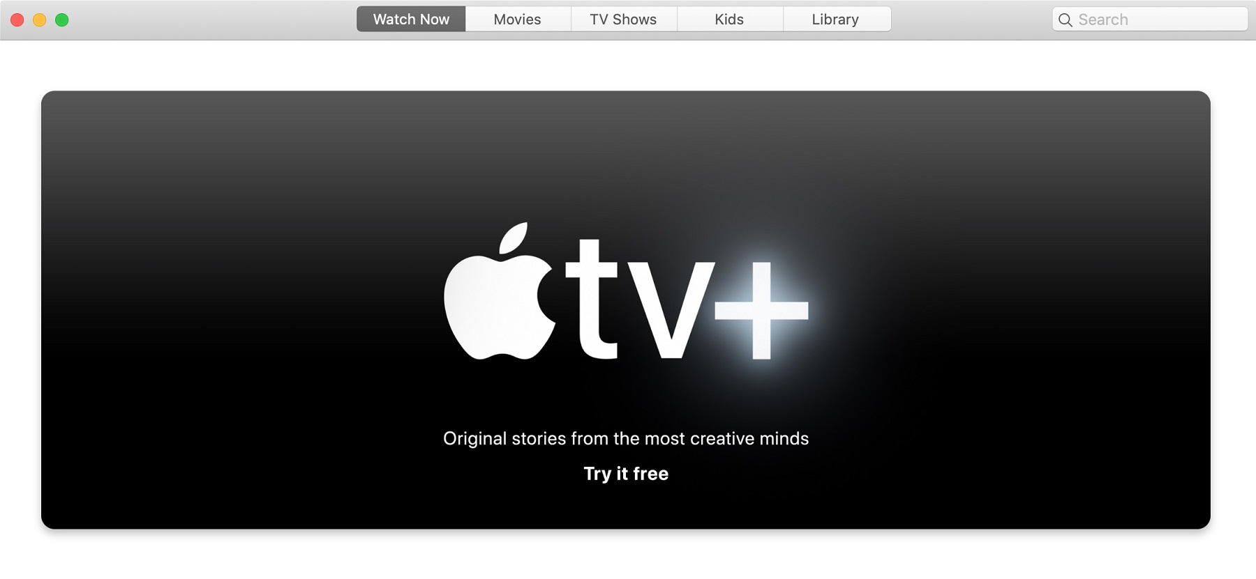 Apple TV+ Banner