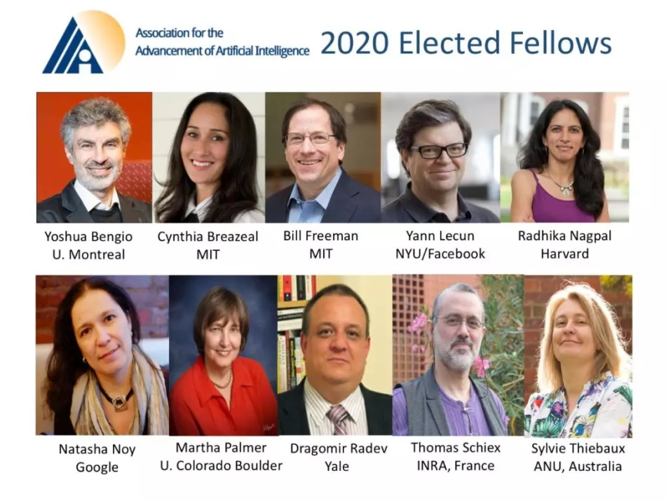 Elected AAAI 2020 Fellows