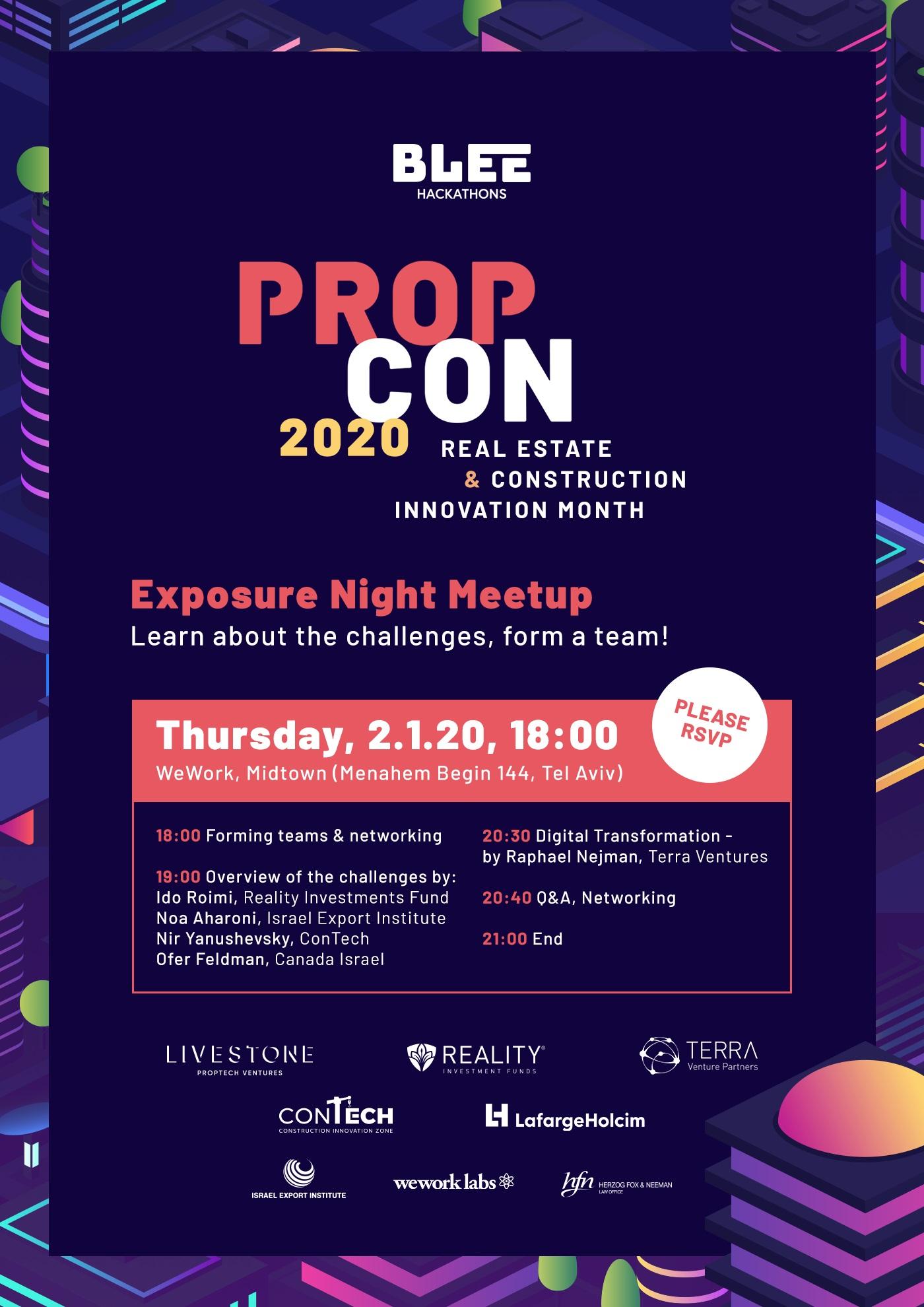 PropCon 2020 TLV