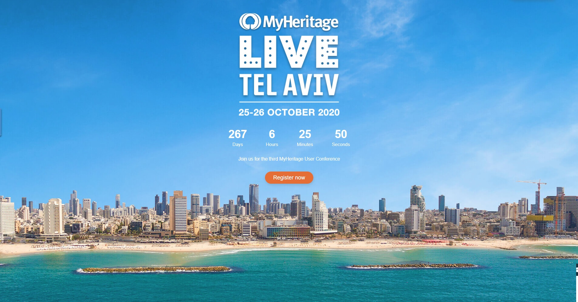 MyHeritage LIVE TLV 2020