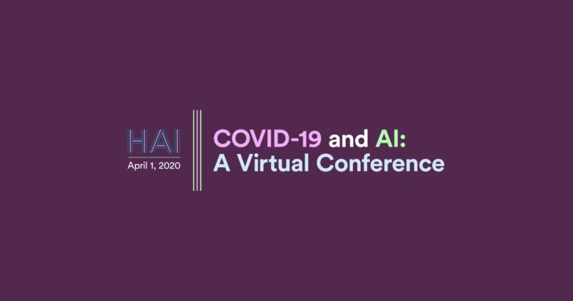 COVID-19 and AI: A Virtual Conference