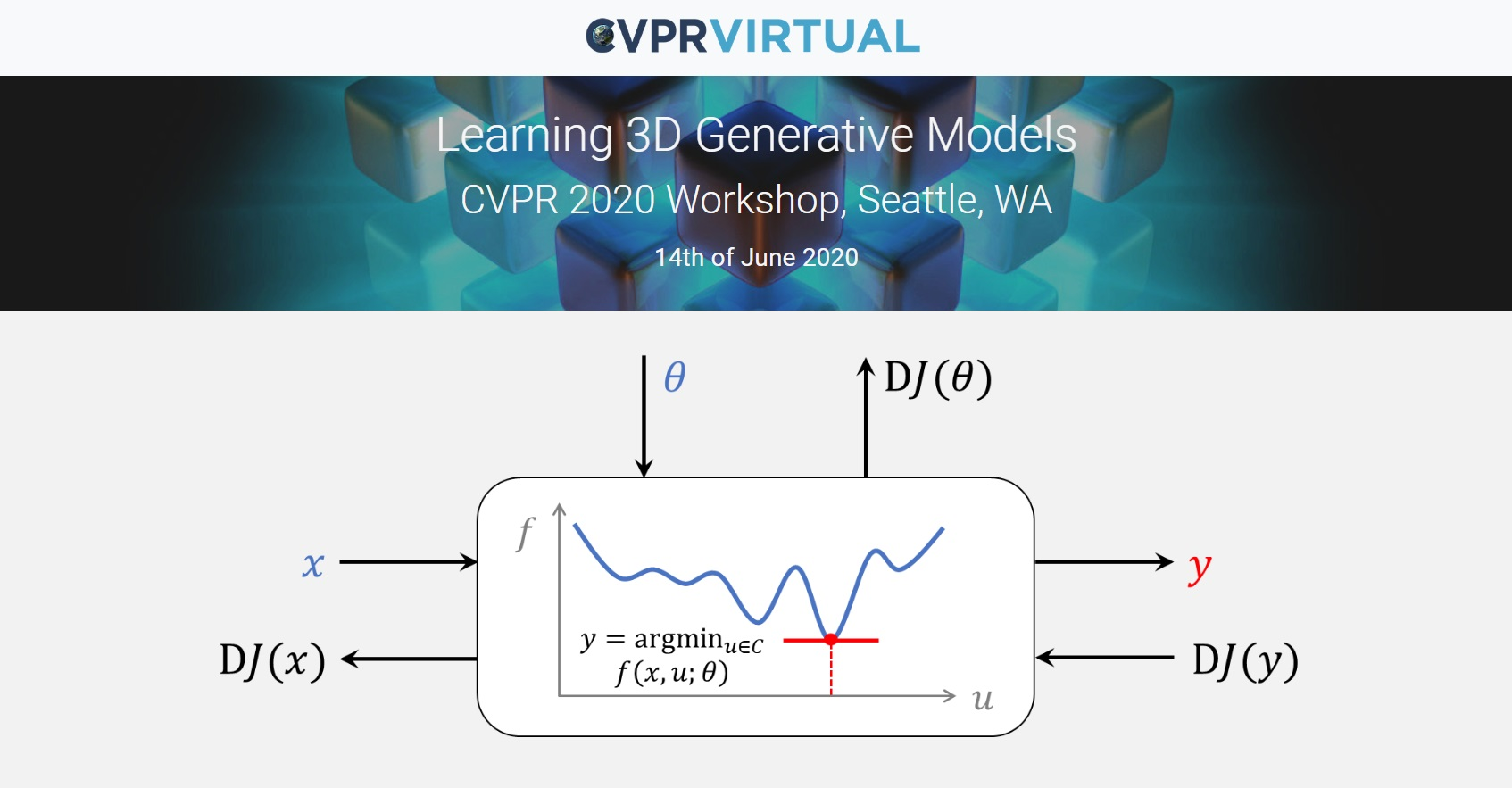 Learning 3D Generative Models Workshop