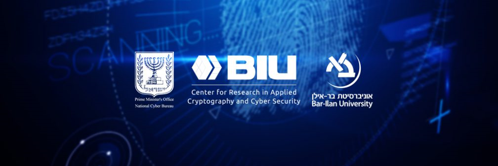 Center for Research in Applied Cryptography and Cyber Security #1