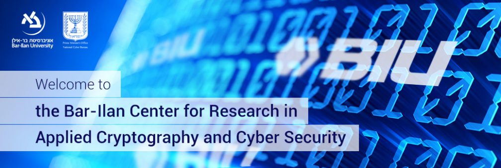 Center for Research in Applied Cryptography and Cyber Security #2