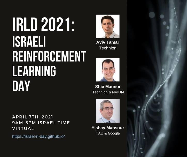 IRLD 2021_Israeli Reinforcement Learning day